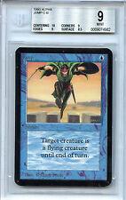 MTG Alpha Jump BGS 9.0 (9) Mint Magic card with 10 centering 4982