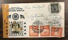 Crosby Chile Flight Cover 1943 Patriotic Uncle Sam photo BUY WAR STAMPS & BONDS