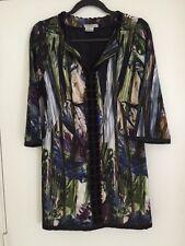 Stunning Alberto Makali Knit Print Tunic Dress Size 4