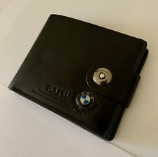 New BMW M Sport Men's Leather Wallet UK 🇬🇧