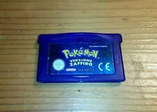 POKEMON ZAFFIRO GIOCO GAME BOY ADVANCE ITALIANO - NO GAME BOY COLOR GIALLO ROSSO
