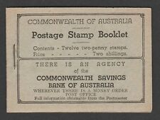 More details for australia 1935-38 2/- 'wherever there is ...' complete booklet sb26c.