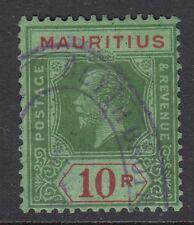 MAURITIUS 1924 G.V - 10R SG241 Cat £375 Fine/Used