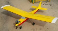 "New 47.5"" Trainer 60 Style RC Plane Kit Remote Control R/C Airplane 47.5in Balsa"