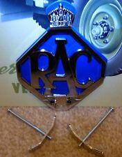 LAND Rover Serie 1 2 2a 2B 3 RAC sul pannello anteriore in metallo auto griglia Badge & Fissaggi