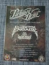 PARKWAY DRIVE - 2018 REVERENCE AUSTRALIA TOUR POSTER - LAMINATED TOUR POSTER