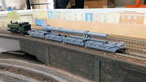 GWR POLLEN SET CARRYING A NAVAL GUN BARREL