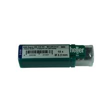 Heller 3.2mm HSS-G Super Twist Metal Drill Bits 10 Pack Ground German Quality