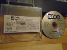 RARE JAPAN PROMO Moe. CD Okayalright compilation 2005 Captain America NYC Kids +