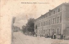 CPA PONTANEVAUX La Chapelle de Guinchay Hôtel des Réunions PROST animée 1905