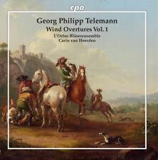 Telemann - Wind Overtures 1 [New CD]