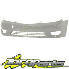 FRONT BAR COVER WHITE SUIT TOYOTA CAMRY CV36 04-06 SERIES 2 BUMPER