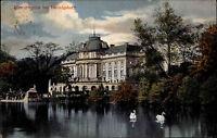 Monrepos bei Ludwigsburg AK 1913 Seeschloss Schloss Verlag Gebr. Metz gelaufen