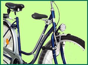 Kindersitz Set für Damen  Touren- Fahrrad