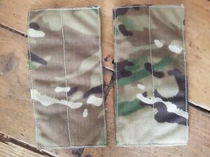 British Army Osprey MK4 Pack of 2X Blanking Panels - MTP - Used - Grade 1 - No2