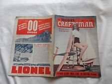 THE MODEL CRAFTSMAN  Magazine-JULY,1941-SOUVENIR ISSUE-NATIONAL MODEL WEEK