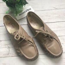 SAS Women Size 8WW Brown Tan Taupe Leather Comfort Orthopedic Walking Shoes Slip