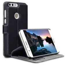 Cover e custodie pelle sintetici neri modello Per Huawei Honor 8 per cellulari e palmari