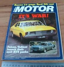 1978.MOTOR.GEMINI.HZ HOLDEN..MAZDA RX-7.DOME-O.CHRYSLER VALIANT.JONES.GOLF