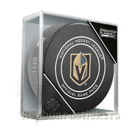 2019 NHL Stanley Cup Playoffs Las Vegas Golden Knights Official Game Hockey Puck