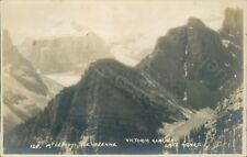 More details for mt lefroy, the beehive, lake agnes, victoria glacier by byron harmon local publi