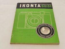 IKONTA AND SUPER-IKONTA GUIDE SIXTH EDITION
