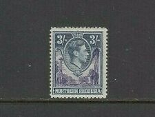 Northern Rhodesia 1938-52 3/- very lightly mounted mint SG 42
