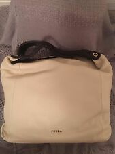 Furla Elizabeth Hobo in White
