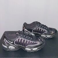 Nike Air Max Tailwind IV (GS) Size 6Y / Wmn's 7.5 Shoes Black Silver BQ9810-002