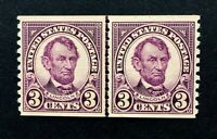 US Stamps, Scott #600 JLP 3c 1924 XF M/NH. Gorgeous, sound and PO fresh.