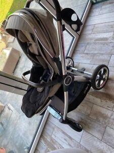 Babystyle Oyster 3 Mirror Stroller - Truffle