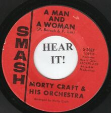 Morty Craft 60s POP 45 (Smash 2087) A Man And A Woman /Music To Think By  VG++
