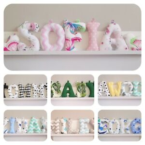 Handmade Fabric Name Banner, Nursery Letters, Nursery Decor, Baby Gift Idea