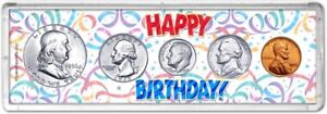Happy Birthday Coin Gift Set, 1956
