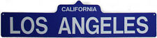 Blue Los Angeles Street Sign - 3064