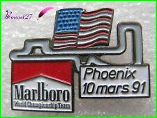 Pin's Circuit course de Formule 1 F1 Marlboro Phoenux USA 91    #H2