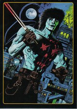 THE CROW CITY OF ANGELS EMBOSSED LEGENDS OF THE CROW CARD 5 OF 10