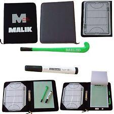 Malik New Champion Map Dry Erase 2 Sided Field Hockey Coaches Coach Play Board