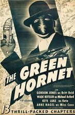 Green Hornet - Cliffhanger Classic Movie Serial DVD Gordon Jones Al Hodge