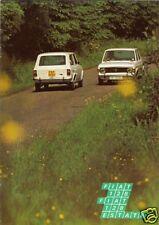 Fiat 128 1100 Saloon & Estate 1971-72 UK Market Sales Brochure
