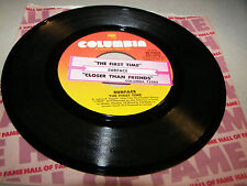 Surface The First Time / Closer Than Friends 45 VG+ Juke Box