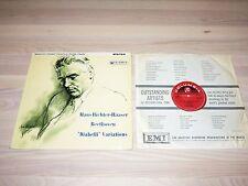 HANS RICHTER-HAASER LP - BEETHOVEN DIABELLI VARIATIONS / COLUMBIA STEREO in M-
