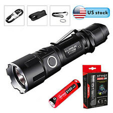 Klarus XT11GT CREE XHP35 HD E4 LED 2000LM Rechargerable Flashlight&18650 Battery