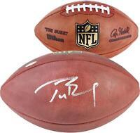 Tom Brady NFL New England Patriots Autographed Pro Football