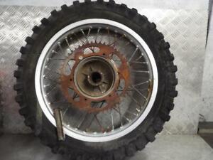 1980 YAMAHA IT 175 CC REAR WHEEL - MOTOCROSS / MX