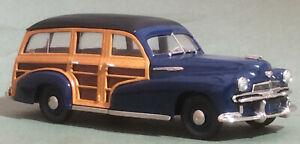 Brooklin Models 1942 Oldsmobile Series 68 Station Wagon.