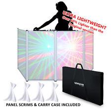 DJ Deck Stand Folding Screen Façade for Disco Booth with Light Panel Scrim & Bag