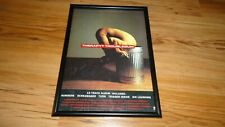 THERAPY troublegum-framed original press release promo poster