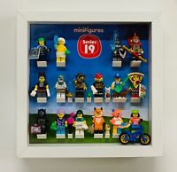 Minifigures Display Frame Lego Series 19 71025 minifigs figures full extensions