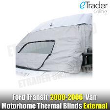 Ford Transit 00-06 Mk6 Motorhome Van Windscreen Cover Protector Thermal Blinds